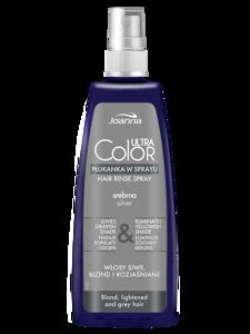 Płukanka w sprayu do włosów Joanna Professional Ultra Color  Srebrna 150 ml