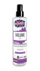 Spray zwiększający objętość do włosów słabych, cienkich i trudnych do stylizacji RONNEY Professional VOLUME UP for thin & brittle hair 285 ml