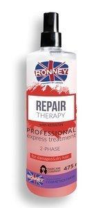 Odżywka regenerująca  w sprayu RONNEY Professional REPAIR THERAPY 2-Phase 475 ml