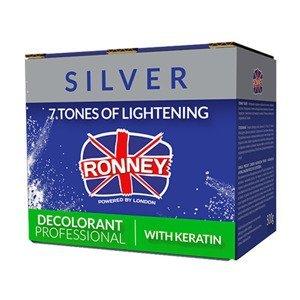 Ronney Silver rozjaśniacz do włosów z Keratyną 500 g
