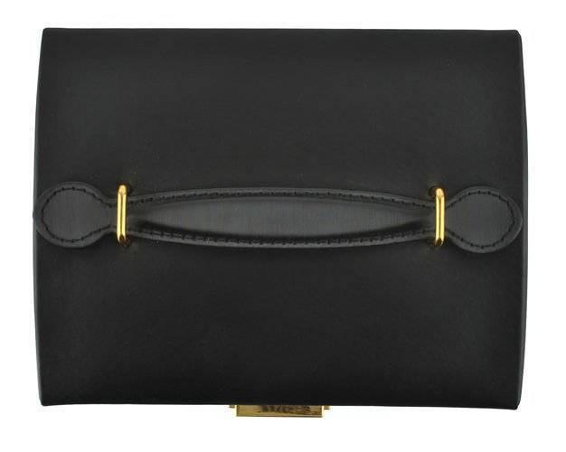 Kuferek, szkatułka na biżuterię - kolor czarny