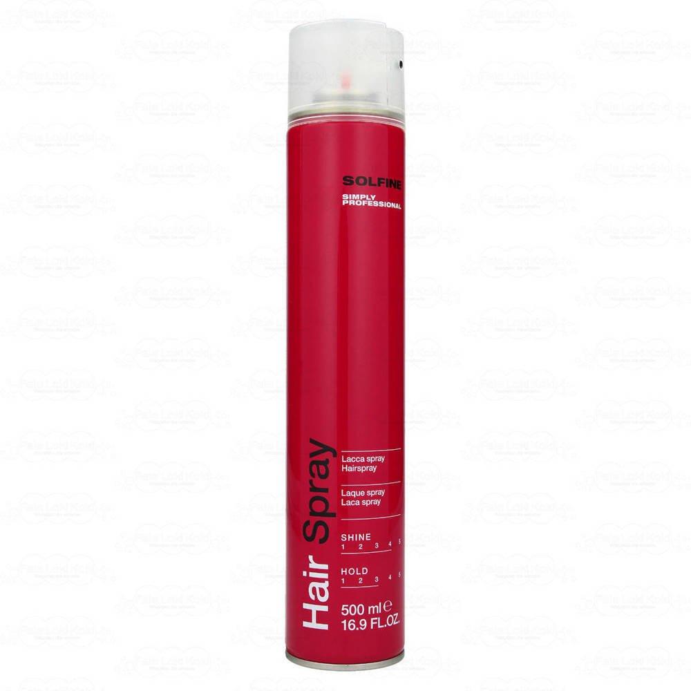 SOLFINE STYLE lakier do włosów 500 ml